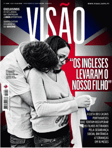 Visao Magazine Cover Centrefold article on our story